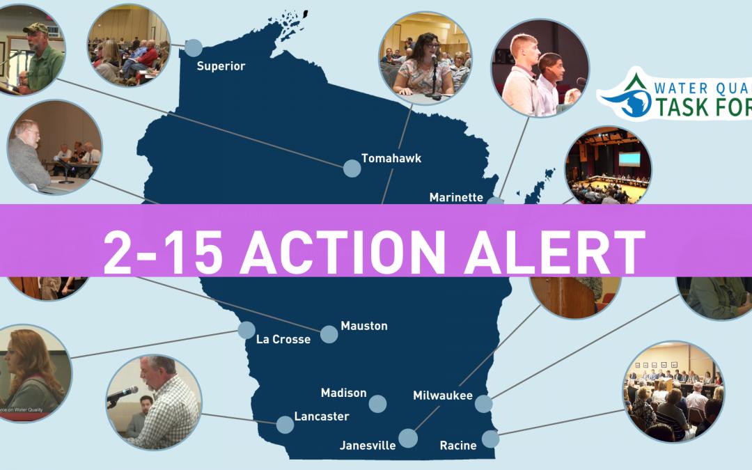 Action Alert: February Water Legislation Update