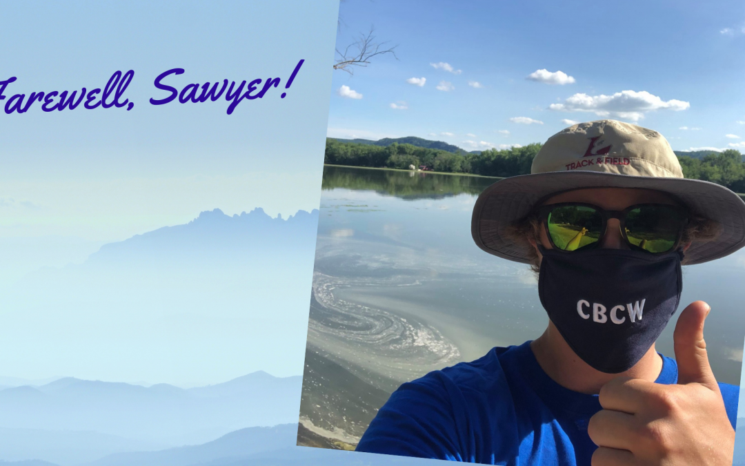 Farewell Sawyer, Aquatic Invasive Species Intern